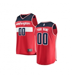 Youth Washington Wizards Fanatics Branded Red Fast Break Custom Replica  Jersey - Icon Edition 52a9affd6
