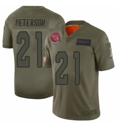 Men's Arizona Cardinals #21 Patrick Peterson Limited Camo 2019 Salute to Service Football Jersey